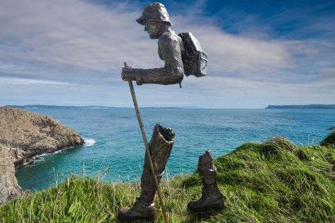 Bronze Figure Sculpture Bruno Catalano sculpture replica for sale