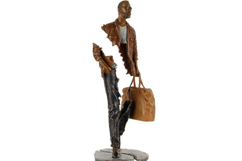 Bronze Frances Bruno Catalano sculpture replica for sale