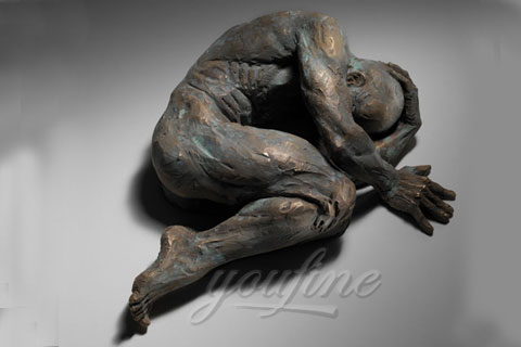 Home decoration bronze sculpture matteo pugliese for sale