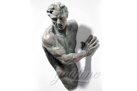 life size bronze sculpture Matteo Pugliese statue for sale
