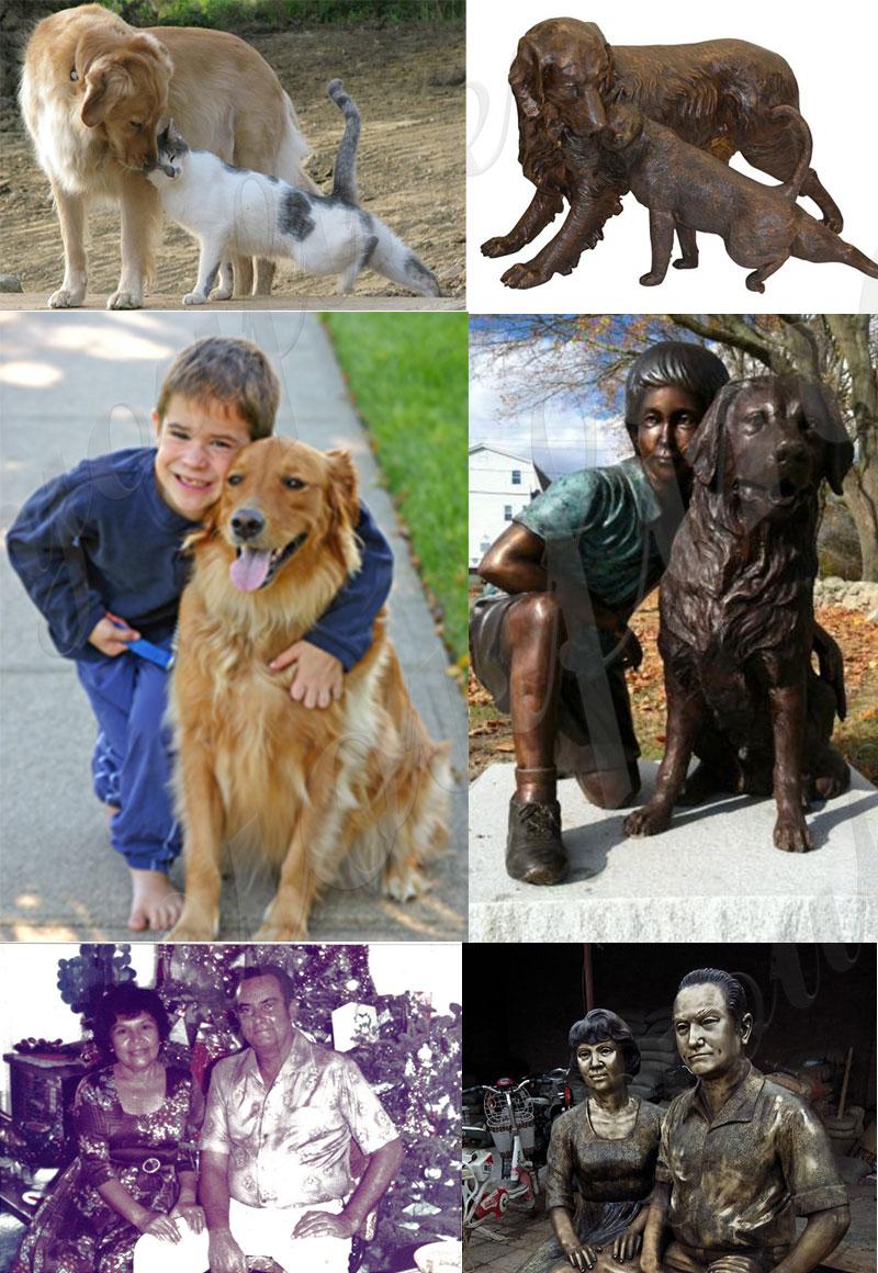 bronze custom figure statue