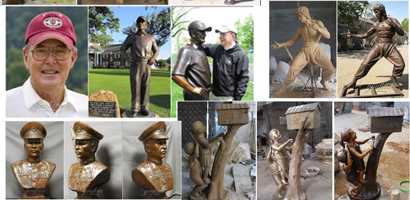 bronze custom statue for sale