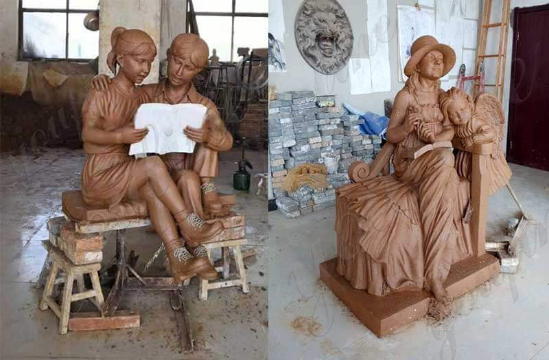 bronze custom made statue