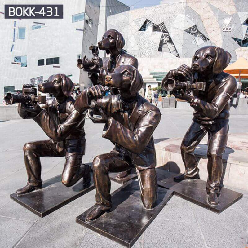life size bronze custom statues