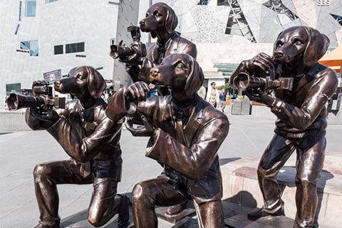 life size bronze custom statue