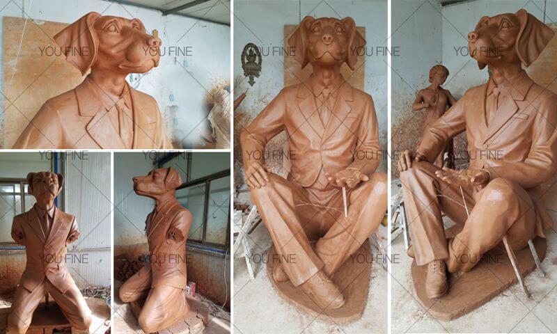 life size bronze custom made statue