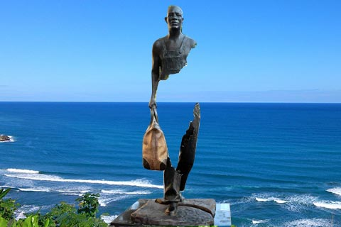 Cheap Life Size Famous Abstract Bronze Bruno Catalano Statue for Sale  BOKK-757