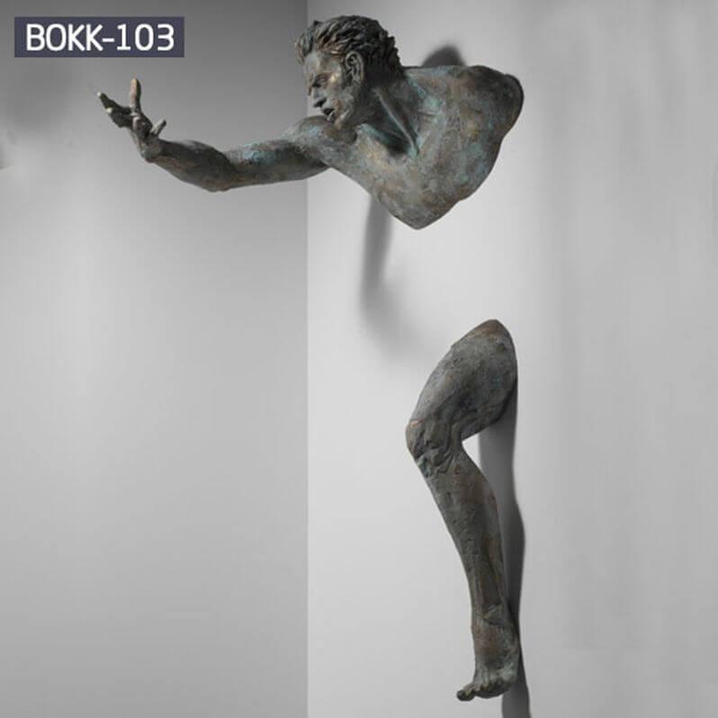 bronze wall sculpture