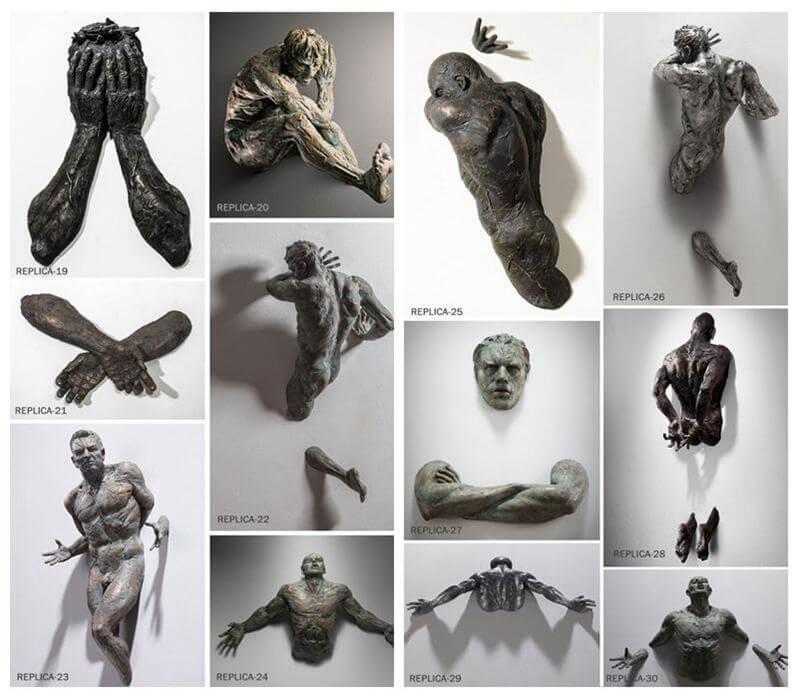 Life Size Bronze Popular Design Matteo Pugliese Sculpture