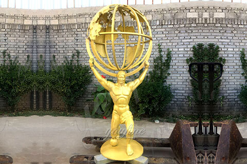 Western-Famous-Bronze-atlas-holding-the-world-Sculpture-for-Sale